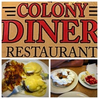 Photo taken at Colony Diner & Restaurant by Venus G. on 10/12/2015