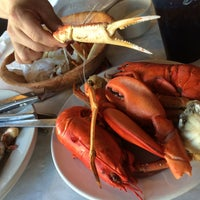 Photo taken at Lighthouse Lobster Feast by Venus G. on 1/2/2015