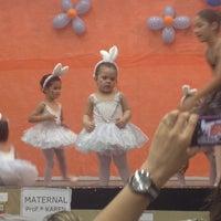 Photo taken at Escola Vila Monteiro Lobato by Eliane P. on 11/22/2013