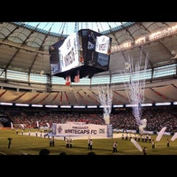 Photo taken at BC Place by Billy H. on 9/30/2012