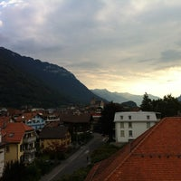 Photo taken at Hotel Lötschberg by Tawatchai T. on 9/7/2013