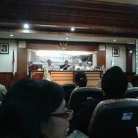 Photo taken at Institut Hindu Dharma Negeri (IHDN) Denpasar by Hari V. on 11/7/2012
