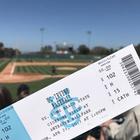 Photo taken at Anteater Ballpark - Cicerone Field by Lulu on 4/23/2017