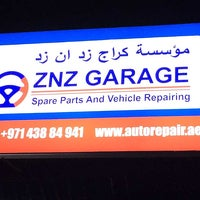 Photo taken at AAA ZNZ Garage EST by AAA ZNZ Garage EST on 10/9/2014