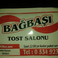 Photo taken at bagbasi tost salonu by Deniz Can K. on 7/16/2015