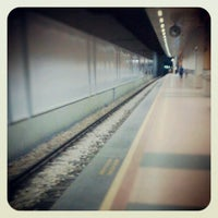 Photo taken at Osmangazi Metro İstasyonu by Kazım G. on 4/10/2013