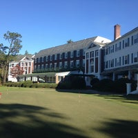 Photo taken at Mid Pines Golf Club by Mike M. on 11/8/2013