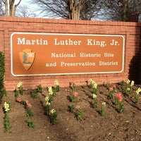 Photo taken at Dr Martin Luther King Jr National Historic Site by Troy W. on 1/21/2013