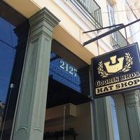 Photo taken at Goorin Bros. Hat Shop Magazine St. by W. Vincent P. on 5/14/2013