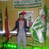 Photo taken at Karacabey Bursasporlular Derneği by Eyüb P. on 3/29/2015