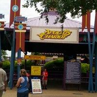 Photo taken at Apollo's Chariot - Busch Gardens by Scot T. on 8/13/2013