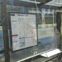 Photo taken at Tramhalte Station Zuid by oviewapp.com D. on 5/6/2016