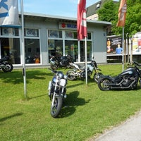 Photo taken at Motorrad Merkel by Stefan G. on 10/10/2014