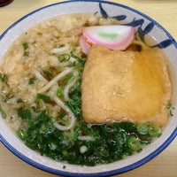 Photo taken at うどん きぬや by keychro on 1/17/2016