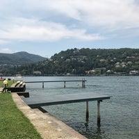 Photo taken at Lido di Villa Geno by Alice K. on 7/20/2017
