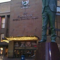 Photo taken at Glasgow Royal Concert Hall by Sandeep S. on 12/5/2012