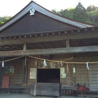 Photo taken at 劔神社 by runride88 on 8/10/2016
