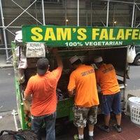Photo taken at Sam's Falafel by Karlito M. on 8/31/2016