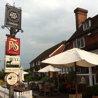 Photo taken at The Bull at Benenden by Pru M. on 6/24/2014