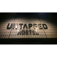 Photo taken at UNTAPPED HOSTEL by etsuko on 8/14/2016