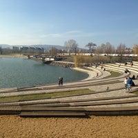 Foto tomada en Kopaszi-gát por Viktoria V. el 3/3/2013