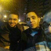 Photo taken at Mohamed Naguib St by Mohamed A. on 2/23/2016