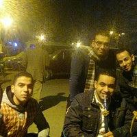 Photo taken at Mohamed Naguib St by Mohamed A. on 2/15/2016