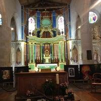 Photo taken at Église Saint-Martin by Nuria B. on 8/5/2013