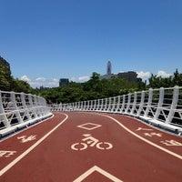 Photo taken at 前鎮之星自行車橋 by Answer W. on 6/1/2013