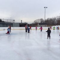 Photo taken at larz anderson skating rink by zookybeans on 12/29/2013