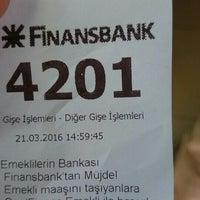 Photo taken at QNB Finansbank by Doğan Can C. on 3/21/2016