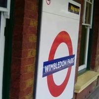 Photo taken at Wimbledon Park London Underground Station by Dayne G. on 2/21/2017
