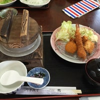 Photo taken at お食事処 秀 by Akira T. on 10/26/2014