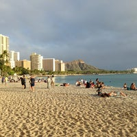 Photo taken at Waikīkī Beach by Michael F. on 2/12/2013