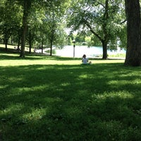Photo taken at Parc La Fontaine by Alberto A. on 7/25/2013