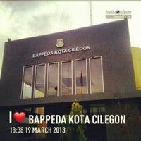 Photo taken at Bappeda Kota Cilegon by Irfan F. on 5/16/2013