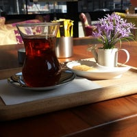Photo taken at Neva Coffee & Bakery by Feyza H. on 3/2/2015