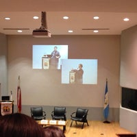 Photo taken at Auditorio Milton Friedman UFM by Miguel d. on 4/2/2014