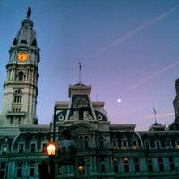 Photo taken at Philadelphia City Hall by winston y. on 4/4/2012