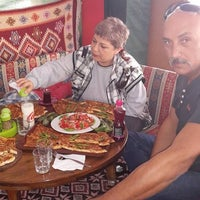 Photo taken at Nefis Pide by İsmail Ö. on 10/12/2014