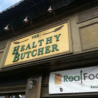 Photo taken at The Healthy Butcher by Stephen V. on 3/10/2014