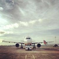 Photo taken at Mactan-Cebu International Airport (CEB) by Estan l. on 5/2/2013