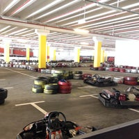 Photo taken at City Centre One Karting by Ivan K. on 6/14/2014