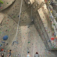 Photo taken at Red Rock Climbing Center by Jian on 4/4/2016