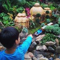 Photo taken at Monet's Garden at The New York Botanical Garden by Jian on 12/5/2014