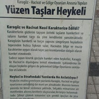 2/10/2013 tarihinde A. Şüca Ö.ziyaretçi tarafından Yüzen Taşlar Heykeli'de çekilen fotoğraf