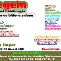 Photo taken at Egem Tost Hamburger by TC Barış B. on 12/28/2014