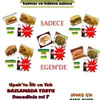 Photo taken at Egem Tost Hamburger by TC Barış B. on 1/1/2015