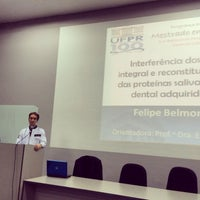 Photo taken at Auditório Azul UFPR by Felipe B. on 3/12/2014