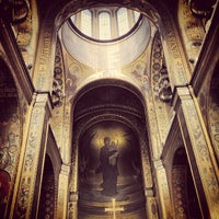 Photo taken at St Volodymyr's Cathedral by Max P. on 3/8/2013